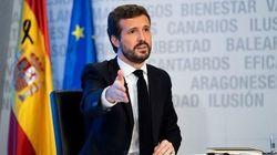 Casado asegura que mantiene la mano tendida a Sánchez y le pide llegar a un Pacto de Estado por la