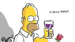 Les Simpson rendent hommage à Hubert