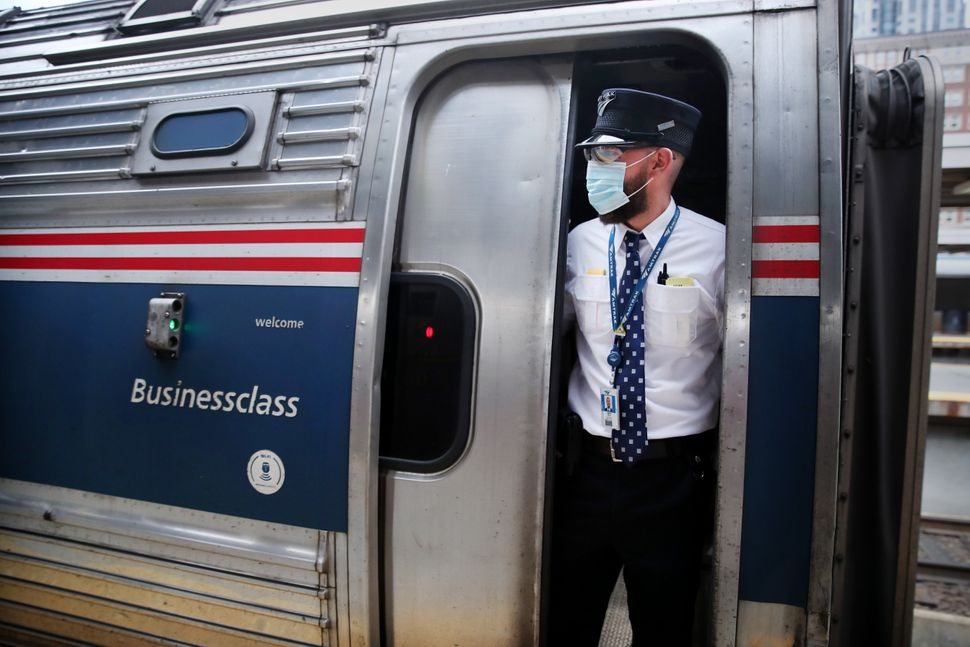 Last fall, Amtrak looked to be on track to make its first-ever yearly profit in 2020. But this April as the pandemic cru