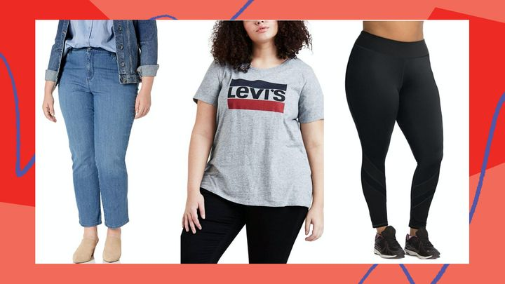 We found cute and affordable plus-size clothes marked down in Amazon's Big Style Sale.