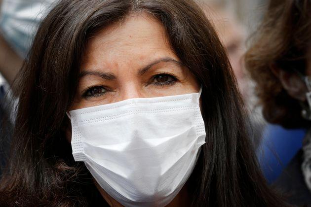 Anne Hidalgo, ici lors d'une conférence de presse le 21 juin, a défendu a Fête de...