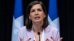 «De grâce, évitez de faire des feux», demande la ministre Geneviève