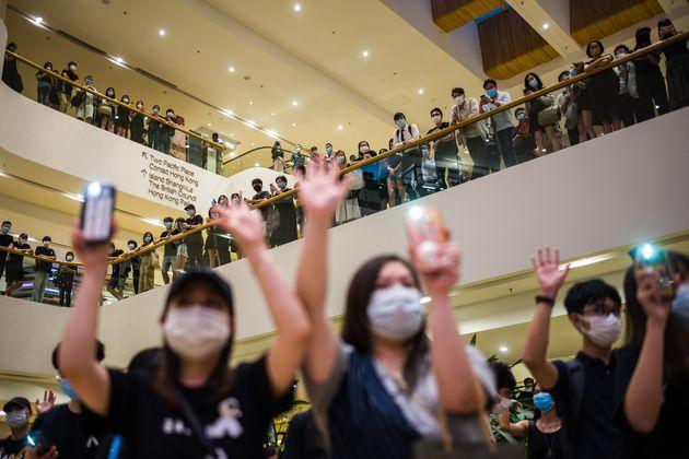 6月15日に実施された抗議活動