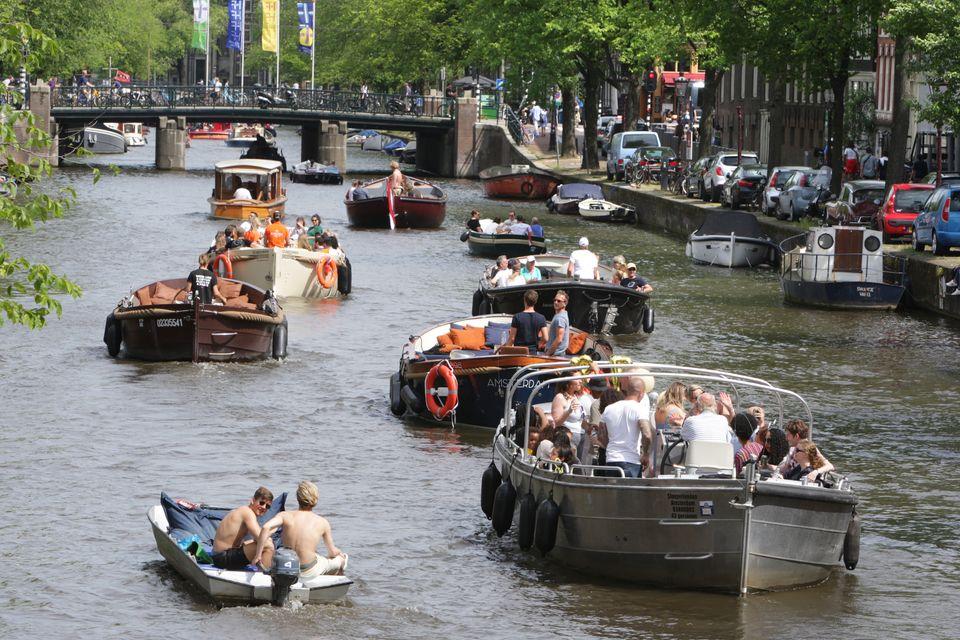 (자료사진) 암스테르담시는 관광객들을 대상으로 하는 주택 단기임대를 규제하고 있다. 에어비앤비로 전환되는 주택이 늘어나면서 주택공급난이 빚어졌기