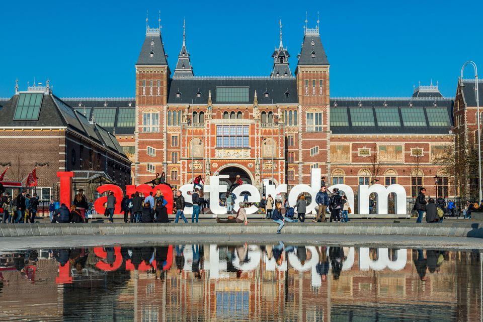 (자료사진) 지난해에 암스테르담을 찾은 관광객은 900만명에