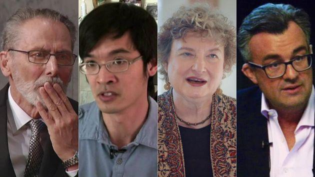 Yves Meyer, Terence Tao, Ingrid Daubechies y Emmanuel