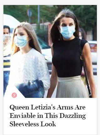 Letizia en la portada de US