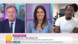 Dizzee Rascal Shuts Piers Morgan Down On Good Morning