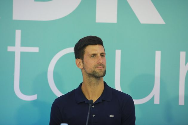 Men's World No. 1 tennis player Novak