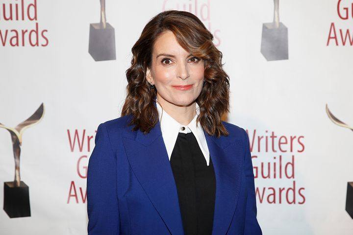 """""""30 Rock"""" co-creator Tina Fey, pictured in February, is the latest comedy star to apologize for characters' use of blackface"""