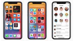 Voici le nouveau iOS 14: des écrans dans