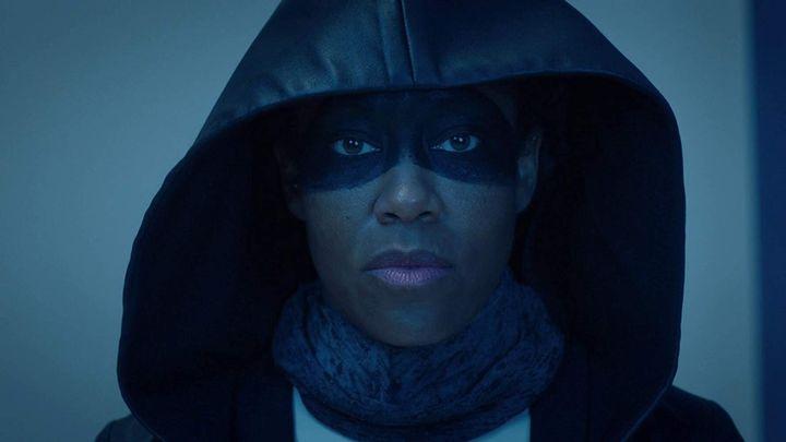 """Actor Regina King in HBO's """"Watchmen."""""""