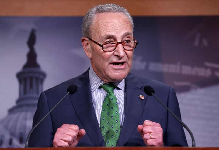 Senate Minority Leader Chuck Schumer (D-N.Y.) is navigating increasingly powerful ideological currents this primary cycle as