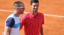 テニス=世界1位ジョコビッチが新型コロナ陽性反応、謝罪表明