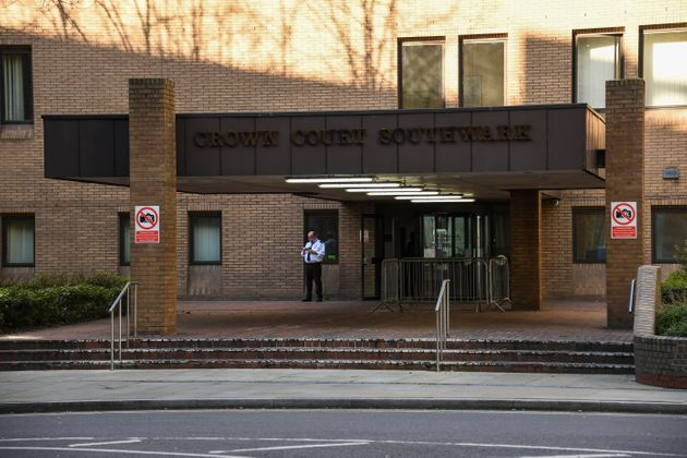 General view of Southwark Crown Court, in