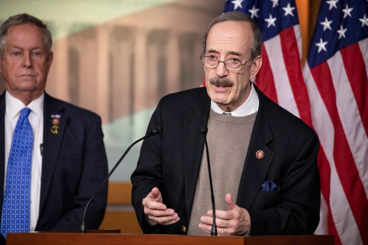 """Rep. Eliot Engel's insistence that he """"brings home the bacon"""" for an economically polarized district was not enough to secure"""