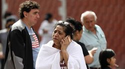 Un terremoto de 7,5 grados sacude el sur y el centro de México y deja, al menos, dos