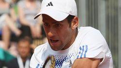 조코비치가 테니스 대회 도중 코로나19에