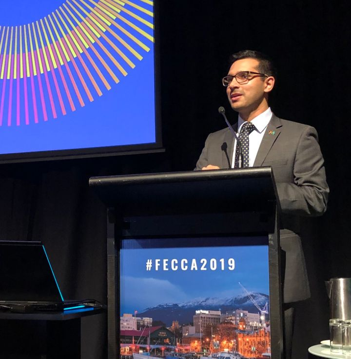 Mohammad Al-Khafaji, CEO of Federation of Ethnic Community Councils Australia (FECCA)