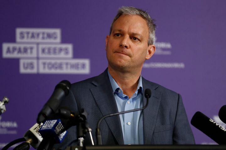 Brett Sutton the Chief Health Officer of Victoria