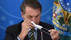 브라질 법원이 보우소나루 대통령에게 '마스크 착용'을