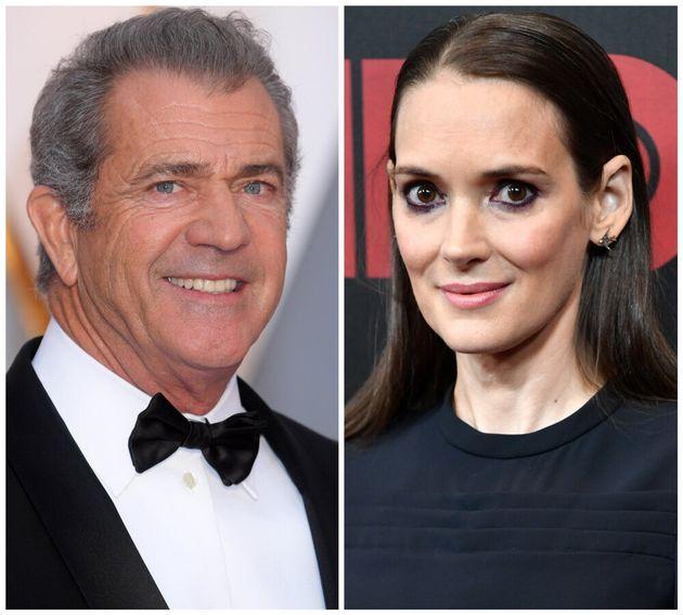 Mel Gibson and Winona