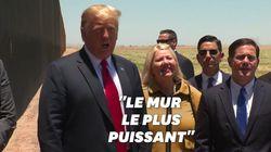 Pour Trump, le mur avec le Mexique a arrêté le