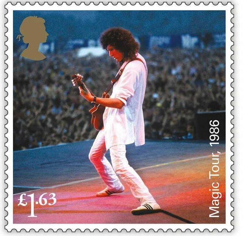 Οι Queen έγιναν γραμματόσημα από τα βρετανικά ταχυδρομεία για τα 50ά γενέθλια