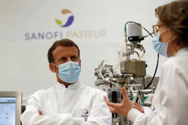 Le gouvernement français planche sur la stratégie qu'il mettra en œuvre en cas de...