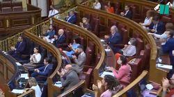 Revuelo por lo que han hecho dos diputados del PSOE tras la intervención de Pablo
