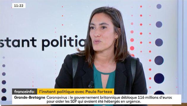 Paula Fortezza, co-présidente du groupe EDS à l'Assemblée