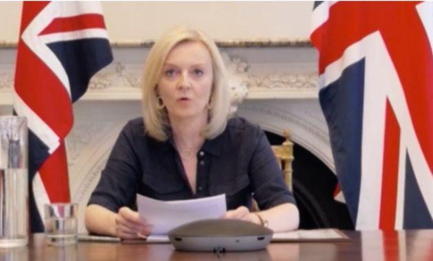 Liz Truss Refuses Four Times To Say Boris Johnson Wont Scrap Trade Department