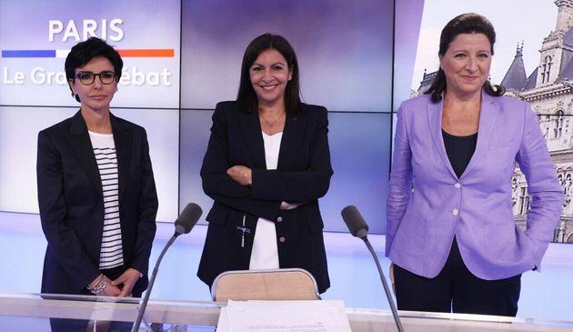 Débat sur BFMTV: Hidalgo boycotte, Dati cède du temps de parole, pas de nouvelles de