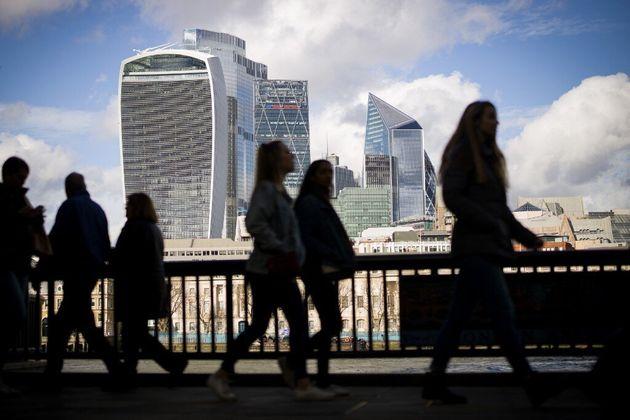 La croissance dans la zone euro et au Royaume Uni devrait chuter de plus de 10% en