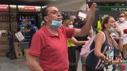 Abalos, increpado por comerciantes en Atocha: