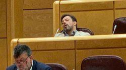 Un senador del PP, dormido en plena