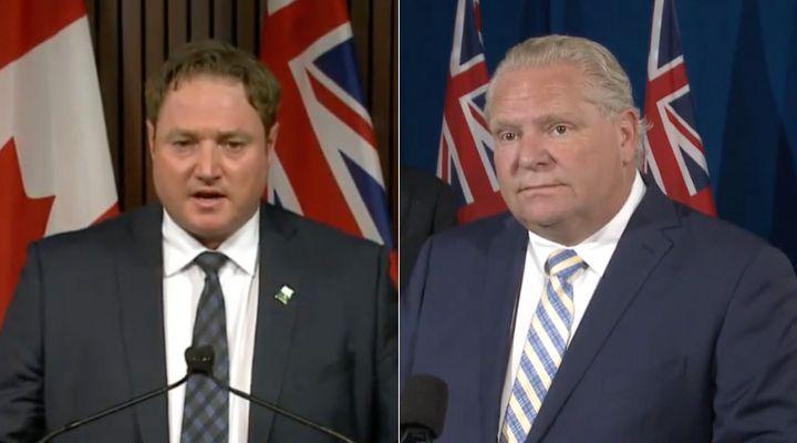 """Ontario MPP Taras Natyshak has apologized for calling Premier Doug Ford """"a piece of s**t."""""""