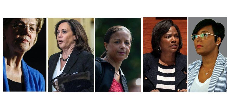 Elizabeth Warren, Kamala Harris, Susan Rice, Val Deming ou encore Keisha Lance Bottoms sont les noms...