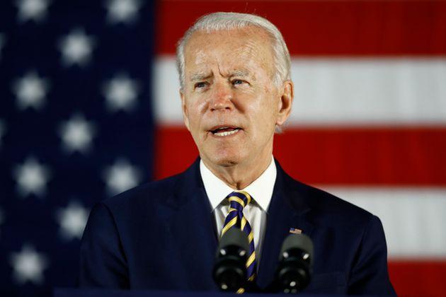 Joe Biden lors d'un discours le 17 juin