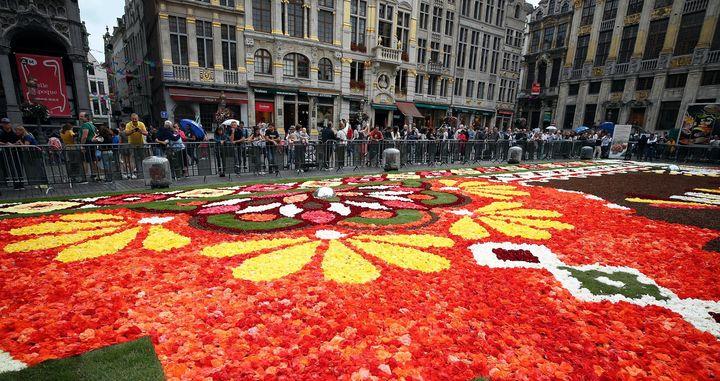 Βρυξέλλες - «Τάπητας Λουλουδιών», Grand Place