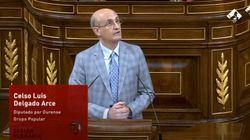 Un diputado del PP sorprende en el Congreso con sus palabras a un exdiputado del