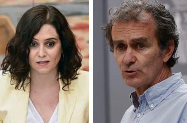 Isabel Díaz Ayuso y Fernando