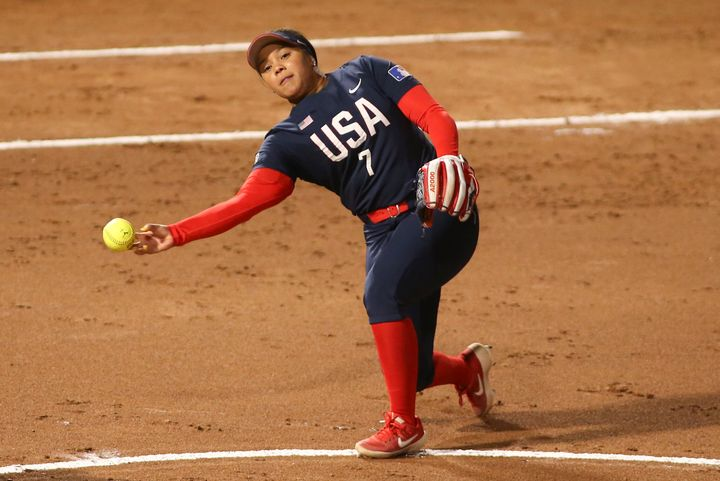 2021 Olympian Kelsey Stewart, one of two Black players on the pro softball team, was taken aback by the general manager's twe