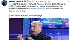 Un joven triunfa al fijarse en este detalle del tuit de Abascal contra Jorge Javier Vázquez: la clave está en la