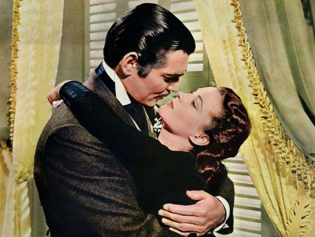 Κλαρκ Γκαμπλ και Βίβιεν Λι στο «Οσα Παίρνει ο Ανεμος» από το 1939.