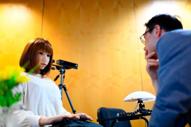 Ερικα: Ρομπότ κάνει ντεμπούτο στο σινεμά με πρωταγωνιστικό