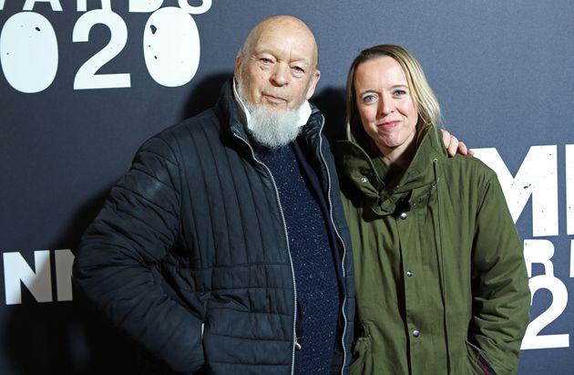 Michael and Emily Eavis at the NME Awards in