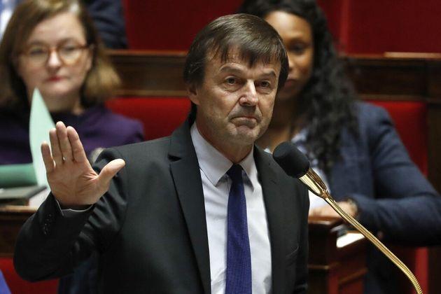 Entre EELV et LREM, Nicolas Hulot (ici à l'Assemblée nationale en 2017) n'hésite