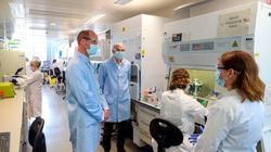 Prince William Steps Out To Visit COVID-19 Vaccine Developers At