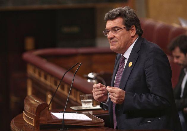 El ministro de Inclusión, Seguridad Social e Igualdad, José Luis Escrivá, en el